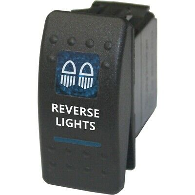 Rocker switch 526B 12V REVERSE LIGHTS Carling ARB NARVA type led blue