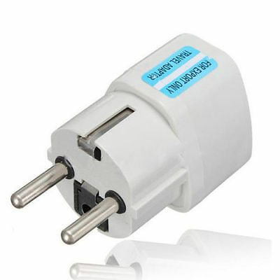 10 x Universal AU UK US to EU Power Socket Plug Travel Charger Adapter Converter
