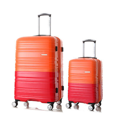 "20""-28"" Luggage Set  Spinner Wheels Trolley Suitcase TSA Lock Travel Carry on"