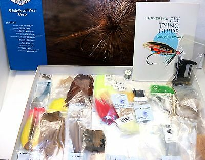 Universal Vise Corp Dick Stewart Fly Tying Guide Kit