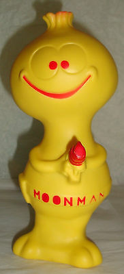 Hungerford Bullwinkle show MOONMAN vinyl squeeze toy JayWard figure in the house
