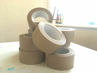 Self Adhesive Brown Picture Framing Tape Framers 50mm PACKS OF 5 10 15