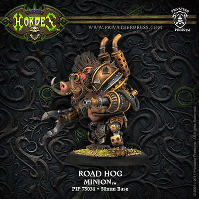Hordes: Minion Road Hog Heavy Warbeast PIP 75034