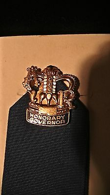 Vintage American Royal Honorary Governor's pin, Harry Darby Estate, Rare, Mint