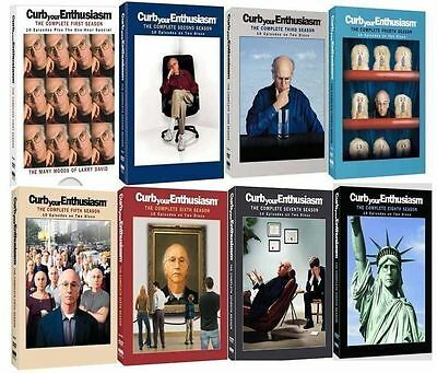 CURB YOUR ENTHUSIASM:   All Complete Seasons 1-8