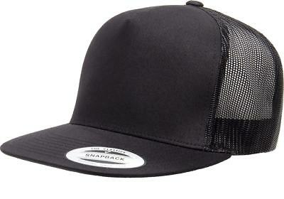 Yupoong® Classic Trucker Mesh Hat Blank 5 Panel 6006 6006T 6006W FLEX FIT Cap