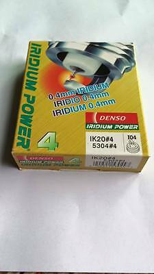 4 PCS DENSO IRIDIUM POWER IK20 Spark Plugs Part# 5304