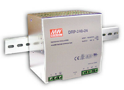 Mean Well DRT-240-48 AC/DC Power Supply Single-OUT 48V 5A 240W  US Authorised