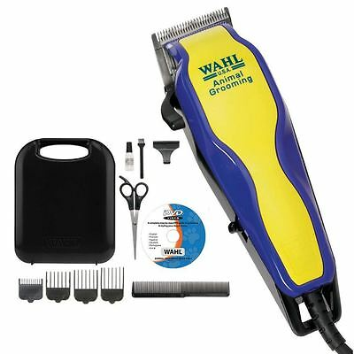 WAHL 9269-810 Pet Dog Animal Grooming Kit Clipper Trimmer & Instruction DVD NEW
