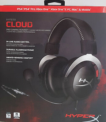 Kingston HyperX Cloud Core Gaming Headset for PCs, PS4, Xbox One, Wii U, Mobile