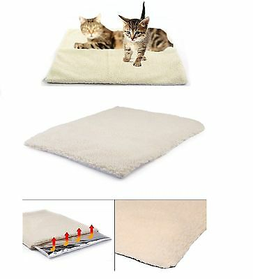 Amazing Magic Self Heating Thermal Pet Bed Cat Dog Puppy Warm Fleece 64 X 49Cm