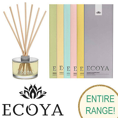 Ecoya Reed Diffuser 6 scents to choose from