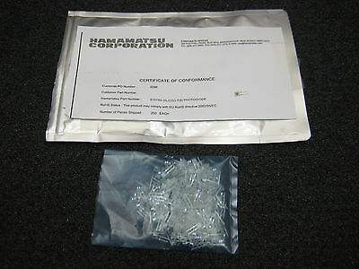 Hamamatsu S10784 Silicon PIN Photodiode (High Speed Detector w/ Lens) QTY 1