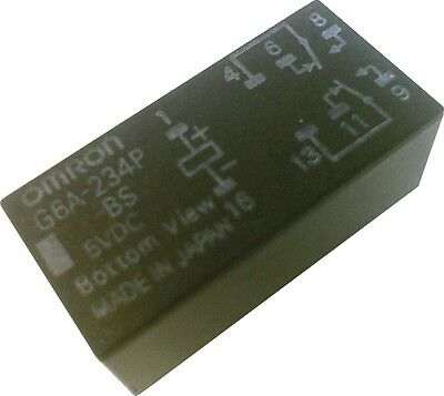 Omron Relay G6A-234P 5V 1A (30VDC) DPDT