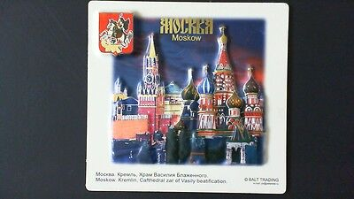 Moscow Russia Magnet! Russian Slavic