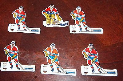 Eagle 1960's Montreal Canadians white background half moon base # 6