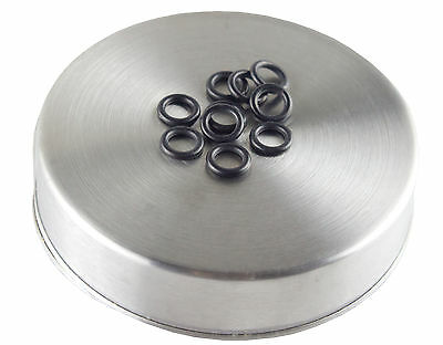 -010 o-ring 10 pack | hardness 90 | black color coded oring by Flasc Paintball