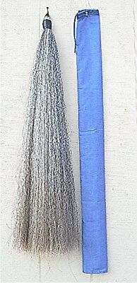 False Tail Extension LIGHT GREY NEW 2 lbs 36+ long by KATHYS TAILS Made USA