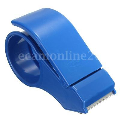 50mm 2'' Hand Tape Dispenser Packing Packaging Boxes Roll Roller Cutter Parcel