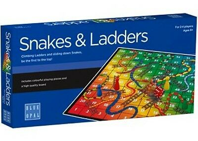 BLUE OPAL - Snakes And Ladders Game NEW