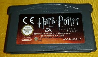 HARRY POTTER AND THE GOBLET OF FIRE & Game Boy Advance Gioco Game Gameboy