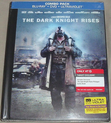 The Dark Knight Rises New Blu Ray Dvd Digibook Target Exclusive Lenticular Cover
