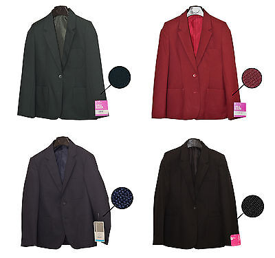 Boys Girls School Blazers Black Blue and Green Various Sizes Save up To £35.00