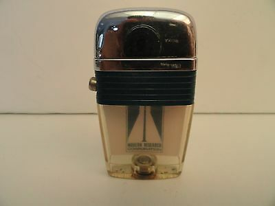 Vintage Scripto VU Lighter Modern Research Corp. with Blue Band