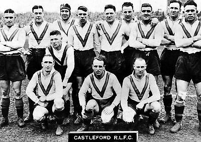 Castleford (Tigers) 1935 Chalenge Cup 02 Photo Print 02