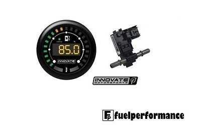 NEW INNOVATE MTX-D Ethanol Content % & Fuel Tempersture Gauge 3904 E85 FLEX FUEL