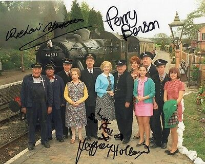 Oh Doctor Beeching - Signed 10x8 Photo by 4 Cast - Handsigned - AFTAL
