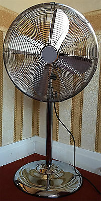 """16"""" Pedestal Standing Stand Fan Portable Oscillating 3 Speed Electric WHITE New"""