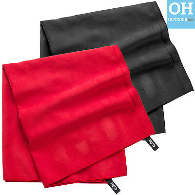 Gill Quick Dry Towel Microfibre Lightweight Anti-Bacterial Red Black Sailing