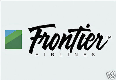 """Frontier Airlines Logo Fridge Magnet 3.25""""x2.25"""" Collectibles (LM14014)"""