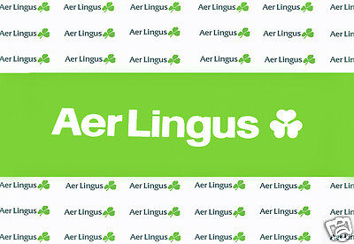 "Aer Lingus Airlines Logo Fridge Magnet 3.25""x2.25"" Collectibles (LM14021)"