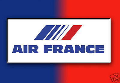 """Air France Airlines Logo Fridge Magnet 3.25""""x2.25"""" Collectibles (LM14025)"""