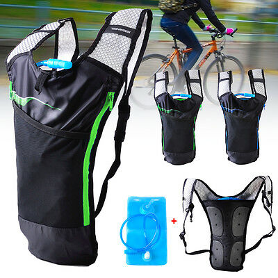 2L Water Bag Bicycle Cycling Hiking 5L Sport Hydration Pack Backpack Knapsack
