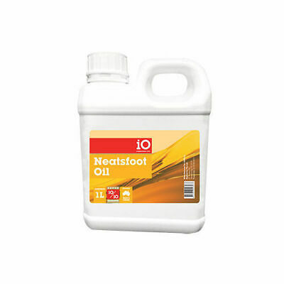 iO Neatsfoot Oil Unsurpassed for restoring water hardened leather saddlery