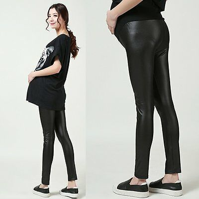 Fashion Pregnant Women Maternity Pants Elastic Leggings Belly Abdominal Trousers