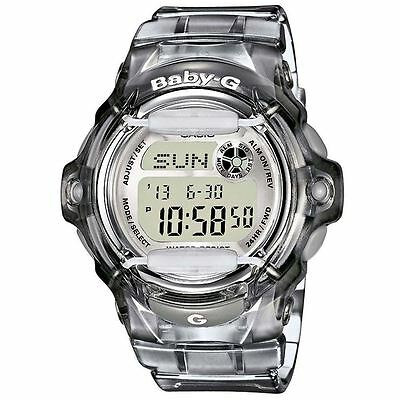 Casio Baby-G Ladies Digital Resin Strap Watch - Grey