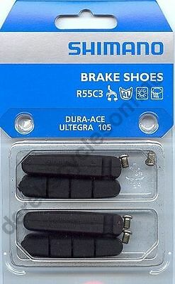 (Set of) Genuine Shimano R55C3 Ultegra, Dura Ace 7900, 105 Road Bike Brake Pads