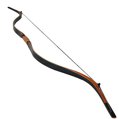 Handmade Archery Traditional Recurve Bow Laminated  Shooting Horse Bow Hunting