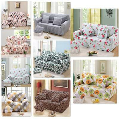 Spandex Elastic 1 3Seat Sofa Couch Seat Cover Slipcover Case 18 Kind Print Decor