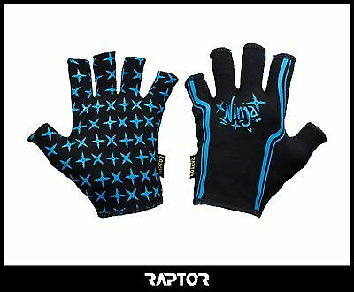 Kids/Mini/Junior Ninja Rugby Grip Gloves/Stick Mits/Mitts. L Boys/XS 11-12yrs