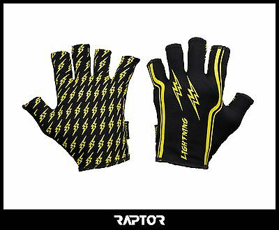 Kids/Mini/Junior Lightning Rugby Grip Gloves/Stick Mits/Mitts Adult Small 13yrs+