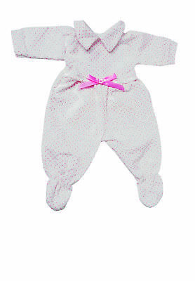 Frilly Lily Pink Spotty Babygrow For  46Cm Baby Annabell.