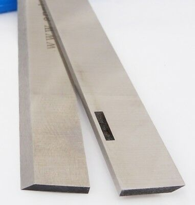 """12inch Slotted HSS Planer Blades for 12"""" 1/8"""" Multico 1 Pair"""