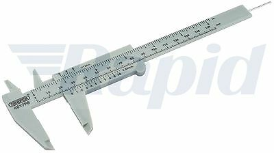 "Draper 73863 150mm OR 6"" Plastic Caliper Gauge"