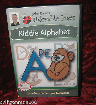 Adorable Ideas Kiddie Alphabet by John  Deer (2016-232)