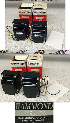 Hammond 119Y100 Transformer Lot of 2